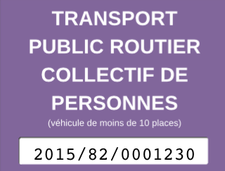 transport public routier collectif de personnes